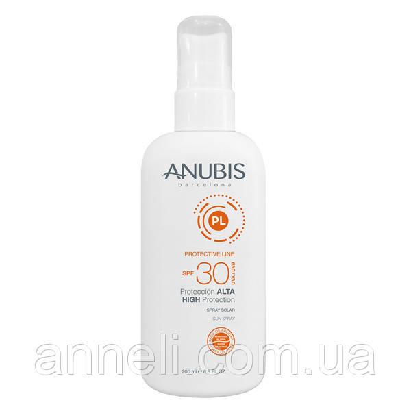 Увлажняющая солнцезащитная эмульсия SPF 30 /High Protection SPF30 Anubis, 200 мл