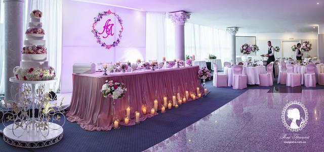 """Свадьба в ресторане """"Интурист"""" 1"""