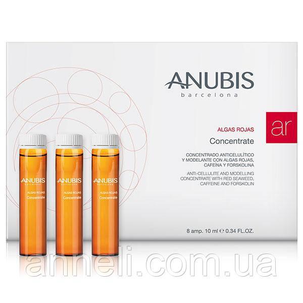 Антицеллюлитный моделирующий концентрат с экстрактом красных водорослей Anubis 1флх10 / Red Seaweeds