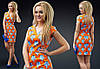 Платье женское коттоновое летнее с вырезом на спине P9500