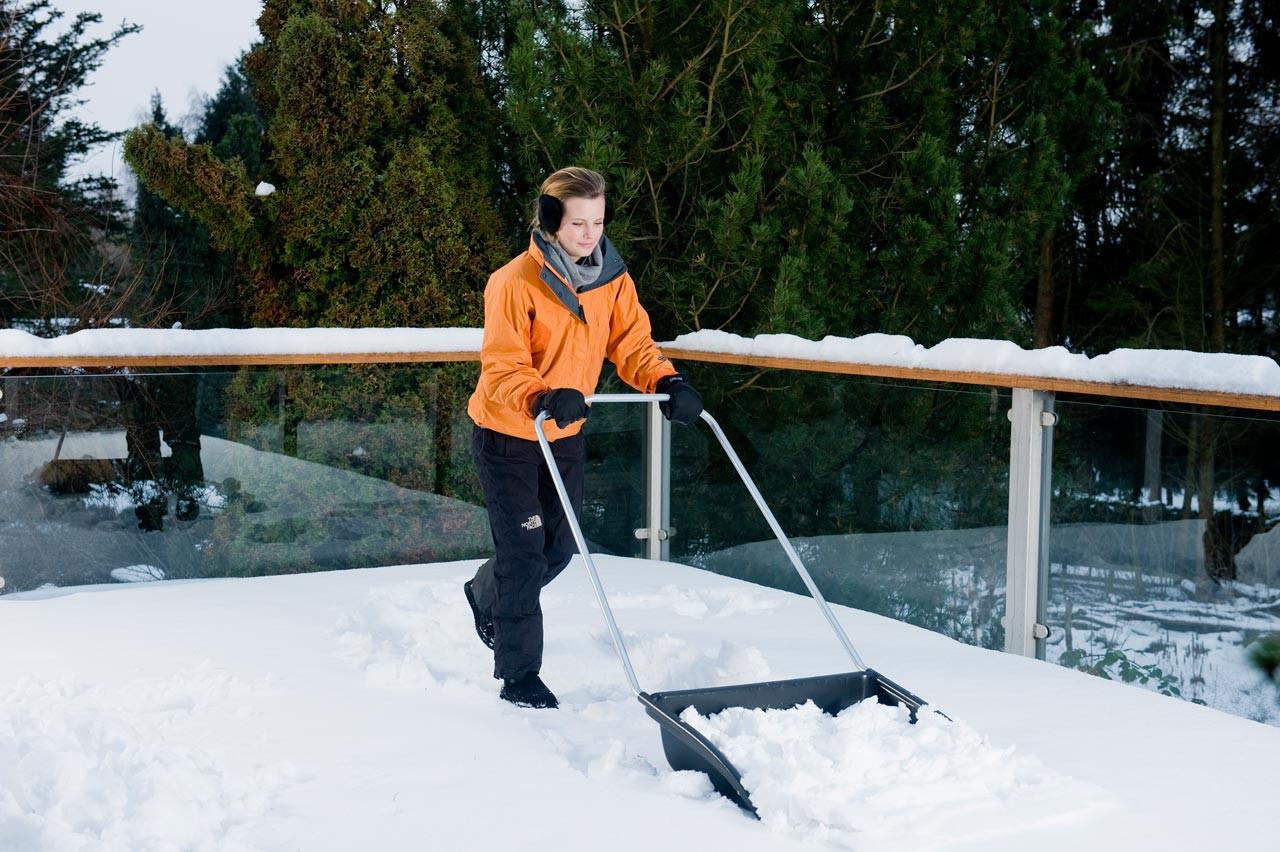 купить Скрепер лопату для уборки снега