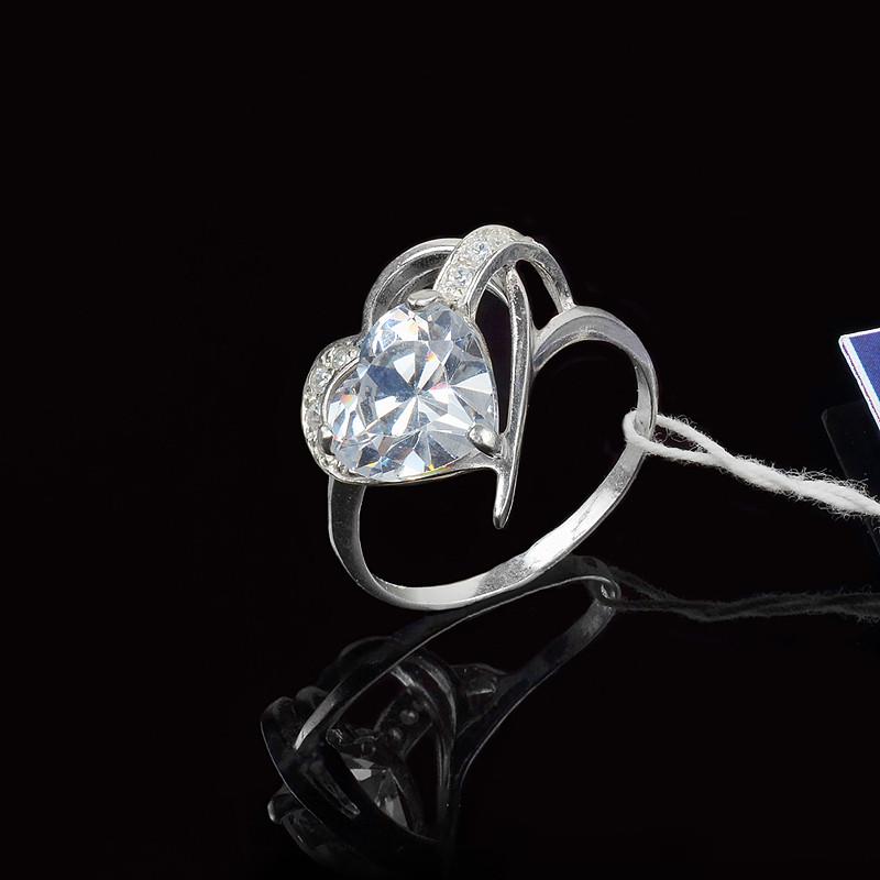 Серебряное кольцо Жетем 18,5 размер