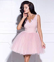 Платье женское нарядное с объёмной сетчатой юбкой P9505, фото 1