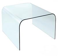 Стол журнальный Вулкано С1, дизайнерский, стеклянный