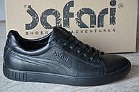 Кроссовки мужские в стиле Safari-Puma код товара SP-1137 Материал натуральная кожа,подошва резина. Черные