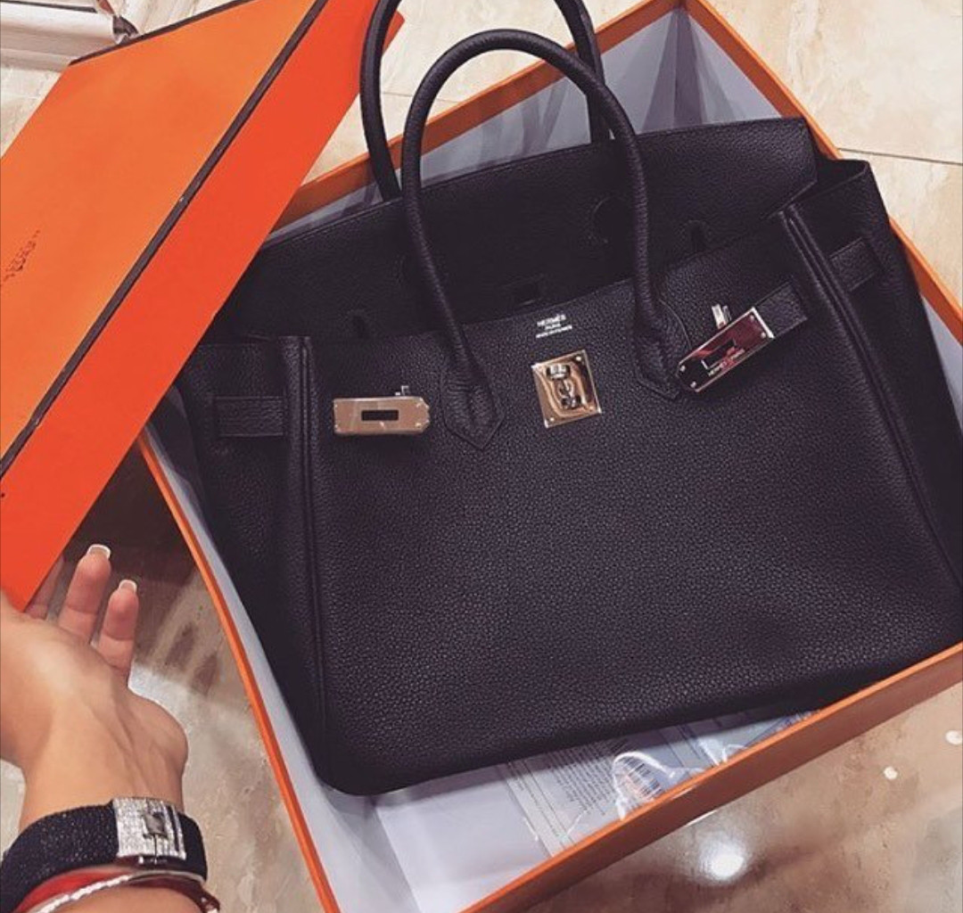 1de79510098e Люкс-копия Hermes Birkin черная, кожа, 35 см, стандарт, цена 2 500 ...