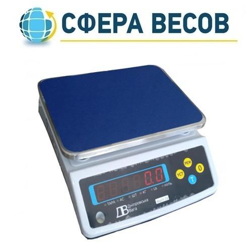 Весы фасовочные ВТЕ-Центровес-30-Т3-ДВ1