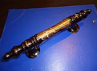Ручка дверная латунная узорная