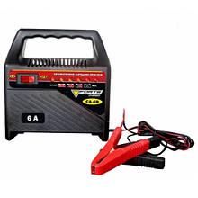 Зарядний пристрій Forte CA-4B, 220 В, зарядний струм 4 А, для акумуляторів 12 В ємністю 35-60 Аг, вага 1,6 кг
