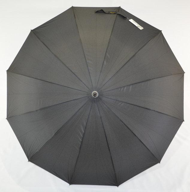 Зонт трость с деревянной ручкой на 12 спиц