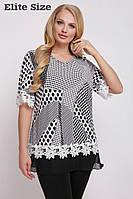Блуза женская большого размера 50,52,54,56,58,60,62, фото 1