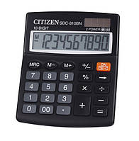 Калькулятор Citizen бухгалтерский SDC-810BN 124х102мм, бухгалтерский 10 разрядов