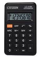 Калькулятор Citizen карманный LC-310N 114х69мм, 8 разрядов