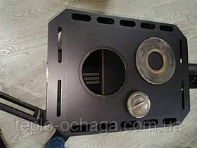 Отопительно варочная печь Огнев ПОВ-200 с конфоркой, фото 3
