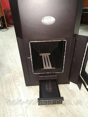 Печь для отопления Огнев ПОВ-100 с двумя конфорками, фото 2