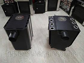 Печь для отопления Огнев ПОВ-100 с двумя конфорками, фото 3