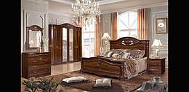 Спальня Сорренто 1Д2 СлонимМебель темный шоколад