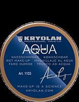 Коричневый аквагрим AQUACOLOR 55мл(оттенок LO)