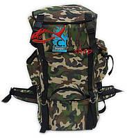 Рюкзак камуфлированный 65 л с набедренным поясом