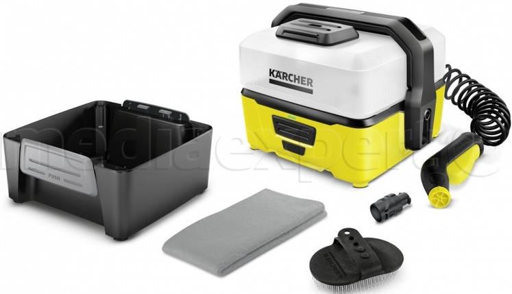 Портативна мийка KARCHER Mobile Outdoor Cleaner OC 3 z Bike Box, фото 2
