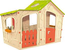 Домик для детей KETER Magic Villa House Kremowo/Jasnogreen