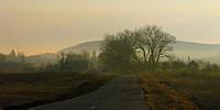 """Фотография на холсте """"Утро в Бариловке"""" 50х70см"""