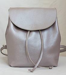 Кожаный женский рюкзак. Кожа Италия