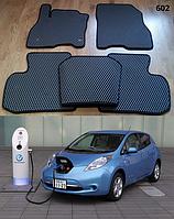 Коврики на Nissan Leaf '10-17. Автоковрики EVA, фото 1