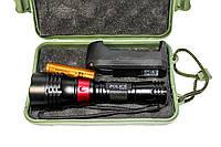 Подводный фонарик для дайвинга с ремешком на руку Kasatka  для профессионального плаванья, 5 режимов