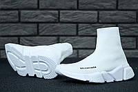 Кроссовки женские в стиле Balenciaga код товара KD-11505. Белые