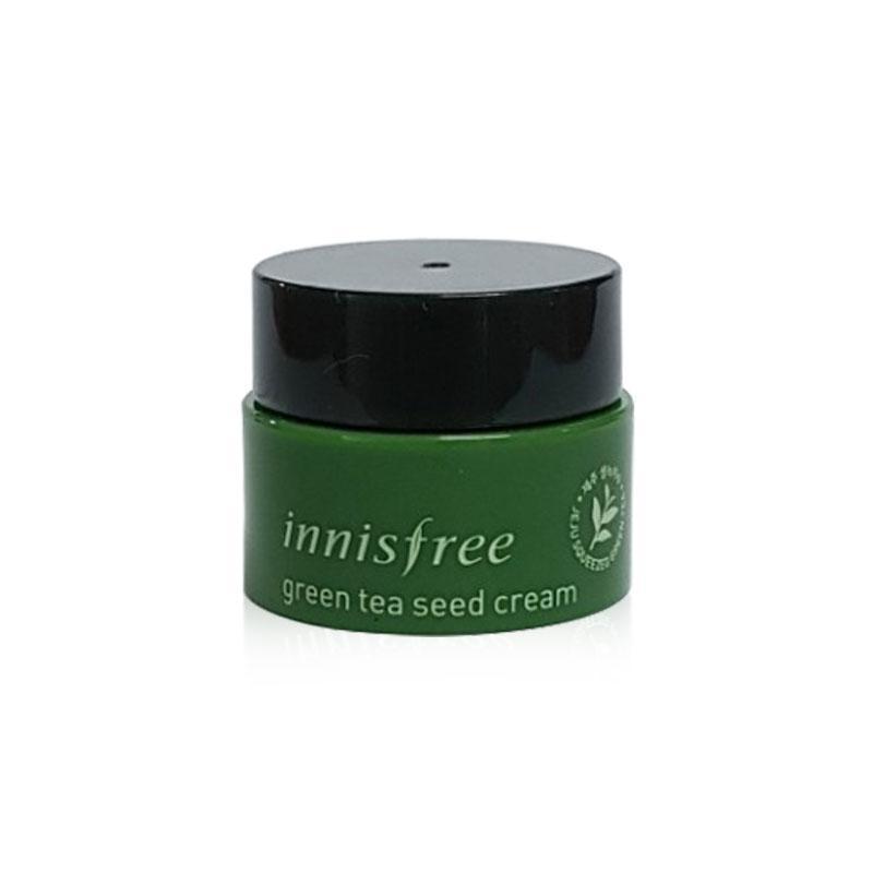 Миниатюра крема для лица с экстрактом масла семян зеленого чая Innisfree Green Tea Seed Cream