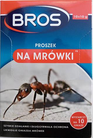 BROS порошок от муравьёв, саше 10гр, фото 2