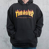 Худи мужская Thrasher Flame Oversize  