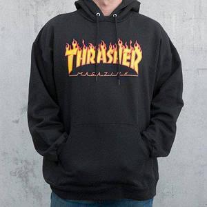Худи мужская Thrasher Flame Oversize | Качественная реплика