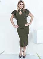 7dbdf5d8f96 Летнее офисное платье-футляр