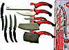Набір кухонних ножів Contour Pro Knives (Контр Про) з 10 предметів + подарунок магнітна рейка, фото 2