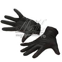 Перчатки черные, 100 шт (размер S,M,L)