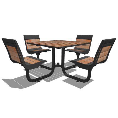 Стол для пикника.