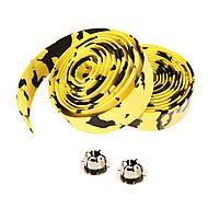 Обмотка для руля велосипеда, Черно - желтый 1, фото 1