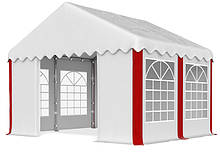 Шатер Палатка Садовая с окнами SUMMER  PE 3 x 4m 240 г/м