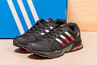 Кроссовки мужские Adidas Cosmic Marathon Air, черные, размер 41.