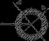 Труба круглая алюминий 30х2,5 анод