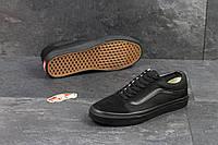 Кеды мужские в стиле Vans Old Skool код товара SD1-5000. Черные