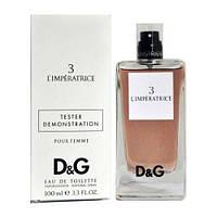 Dolce & Gabbana 3 L`Imperatrice EDT 100ml TESTER (туалетная вода Дольче Габбана 3 Императрица тестер)