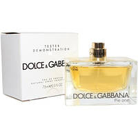 Dolce & Gabbana The One EDP 75ml TESTER (парфюмированная вода Дольче Габбана Зе Ван тестер)