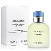 Dolce & Gabbana Light Blue Pour Homme EDT 125ml TESTER (туалетная вода Дольче Габбана Лайт Блю Пур Хом тестер)