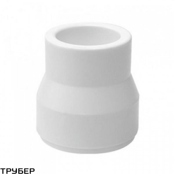 Муфта редукция 63*40 полипропилен KALDE (белое)