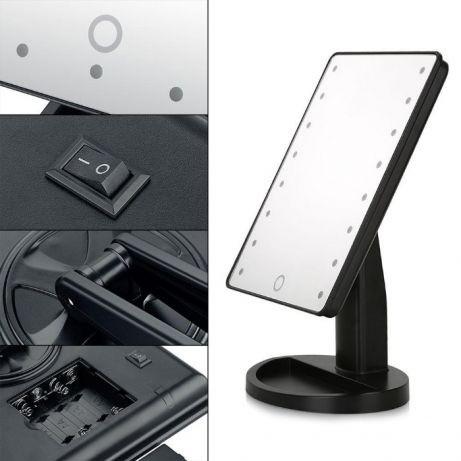 Зеркало для макияжа с LED подсветкой 16 лампочек Magic MakeUp Mirror