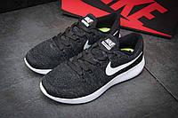 Кроссовки мужские Nike Lunarepic Flyknit, черные, размер 42.