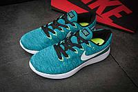 Кроссовки мужские Nike Lunarepic Flyknit, бирюза, размер 42.